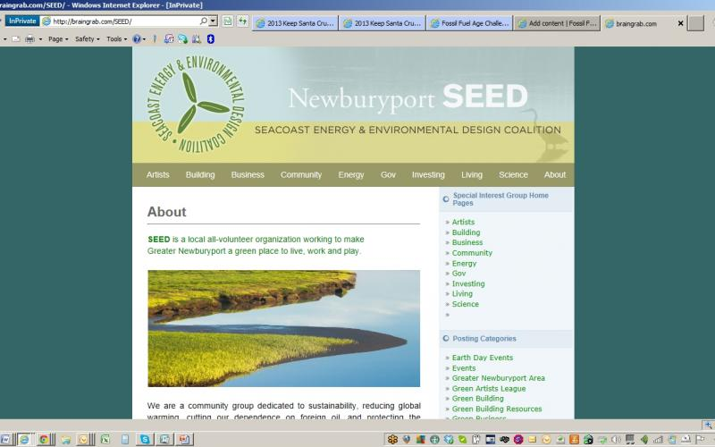 SEED - The Seacoast Energy and Environmental Design Coalition