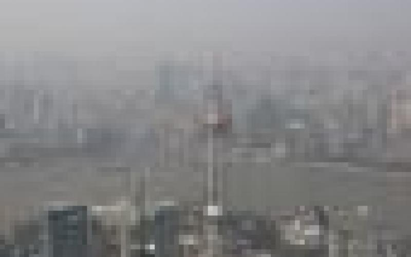Shanghai China: Smog shuts down City, December 6 2013